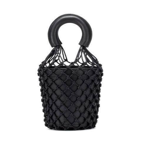 black friday 2020 tassen staud moreau leather bucket bag