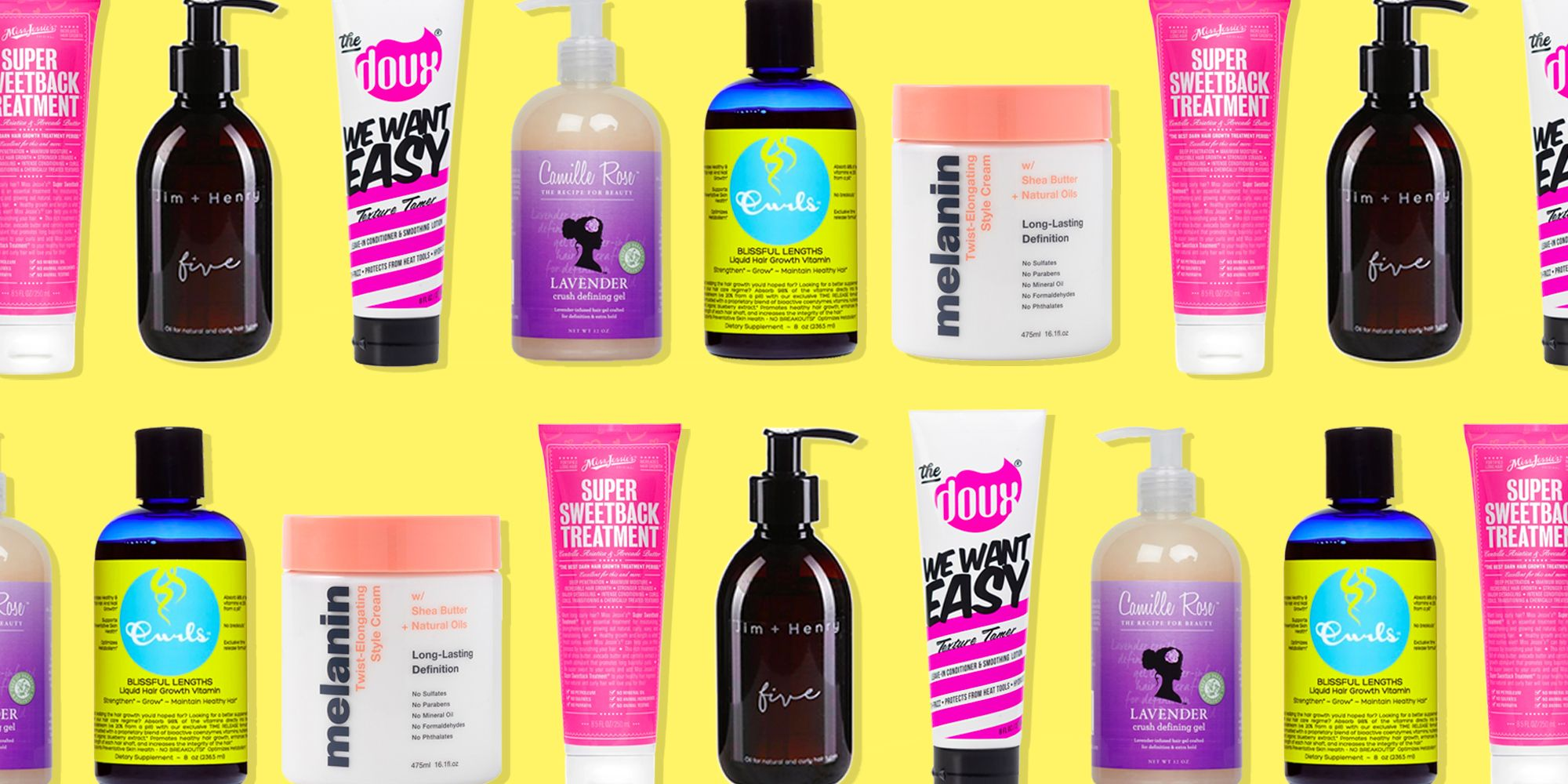 30 Best Black Owned Hair Products 2020