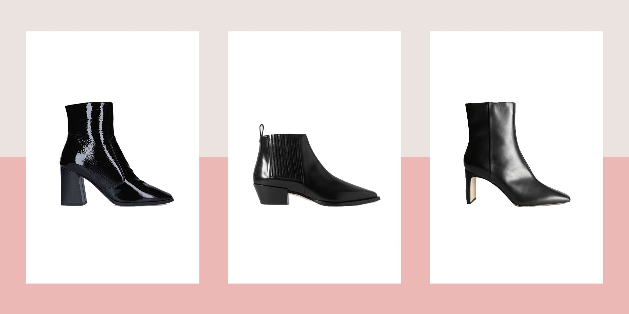 Black heeled ankle boots you need in your life