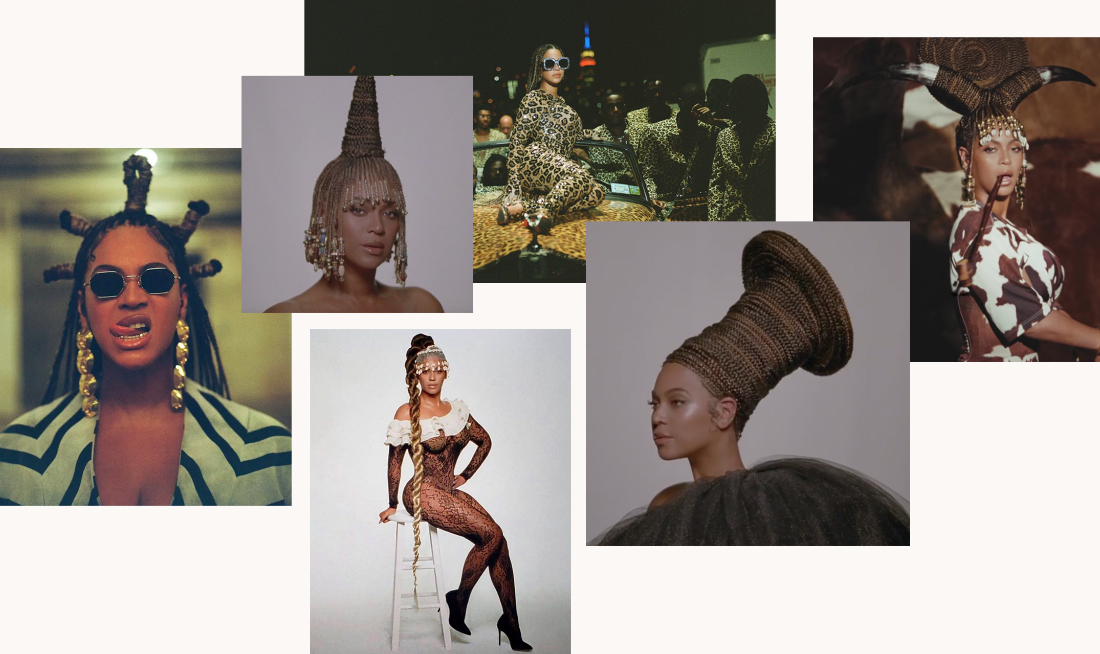 Beyoncé's 'Black Is King' Hairstylists Made 40+ Wigs In Just 6 Days