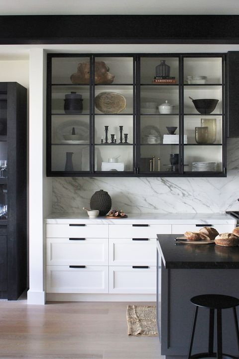21 Black Kitchen Cabinet Ideas - Black Cabinetry and Cupboards