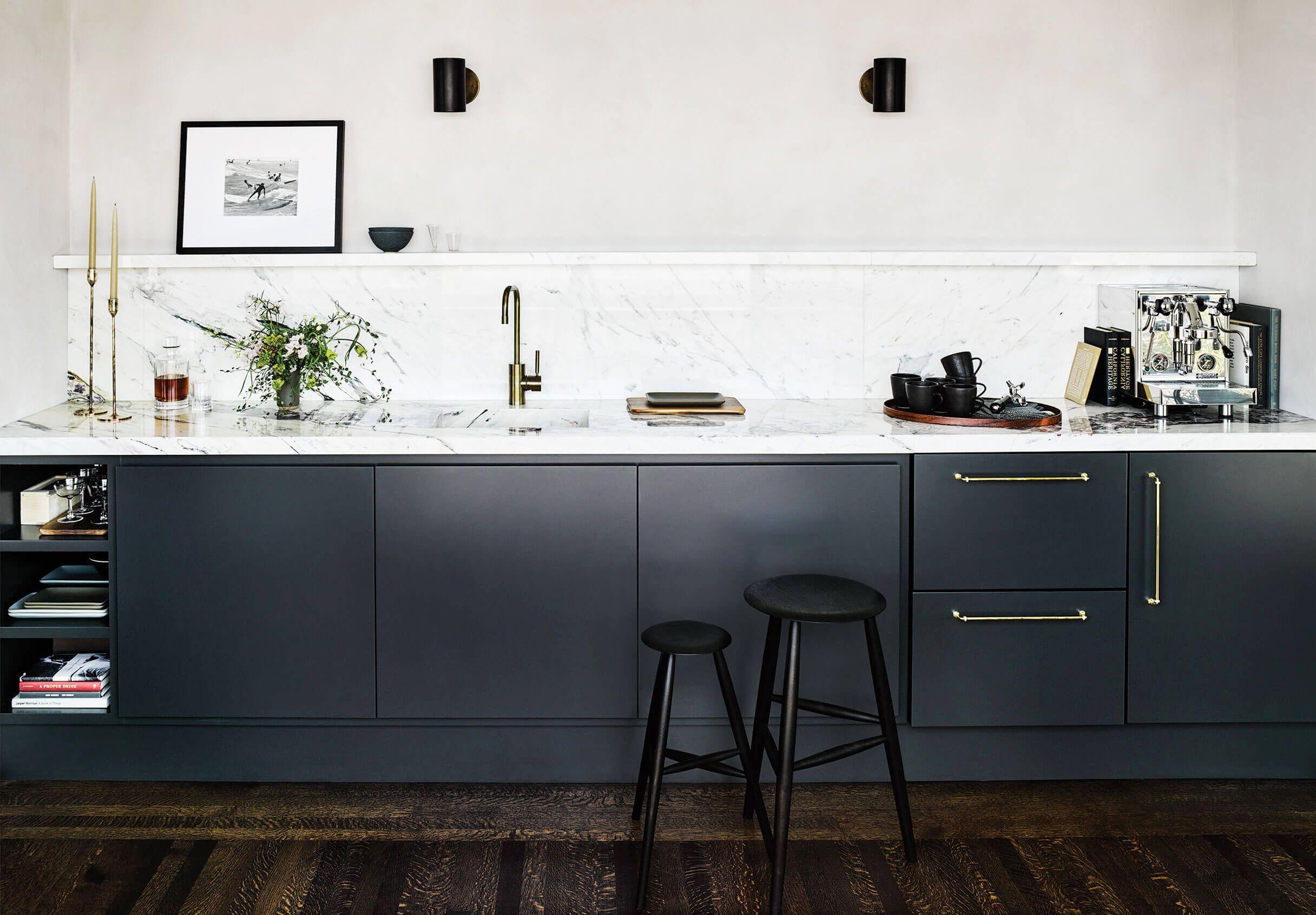 21 Black Kitchen Cabinet Ideas