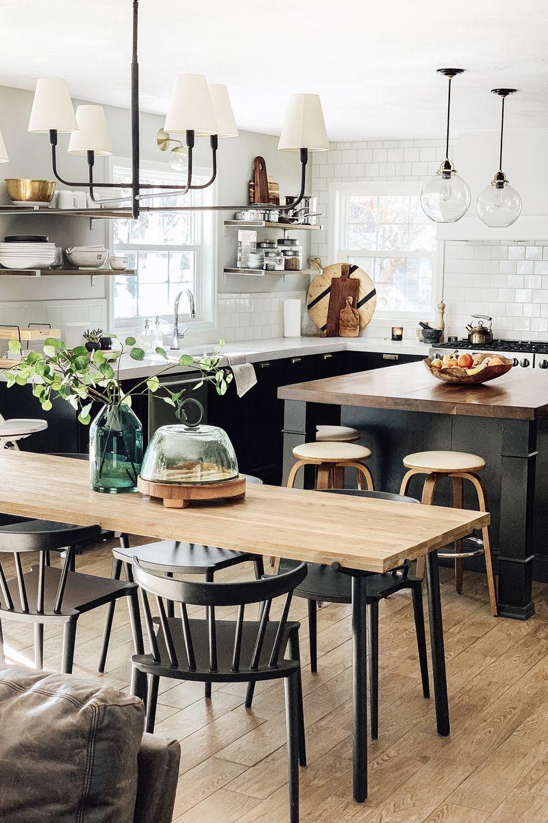 11 Black Kitchen Cabinet Ideas For 2020 Inspiration