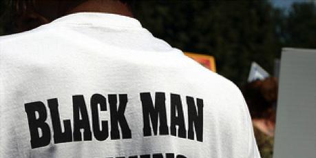 Black Man Running tshirt