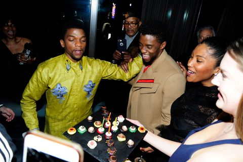 What To Know About Chadwick Boseman S Wife Taylor Simone Ledward