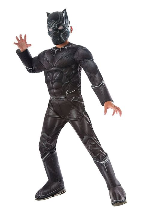 black panther superhero costume