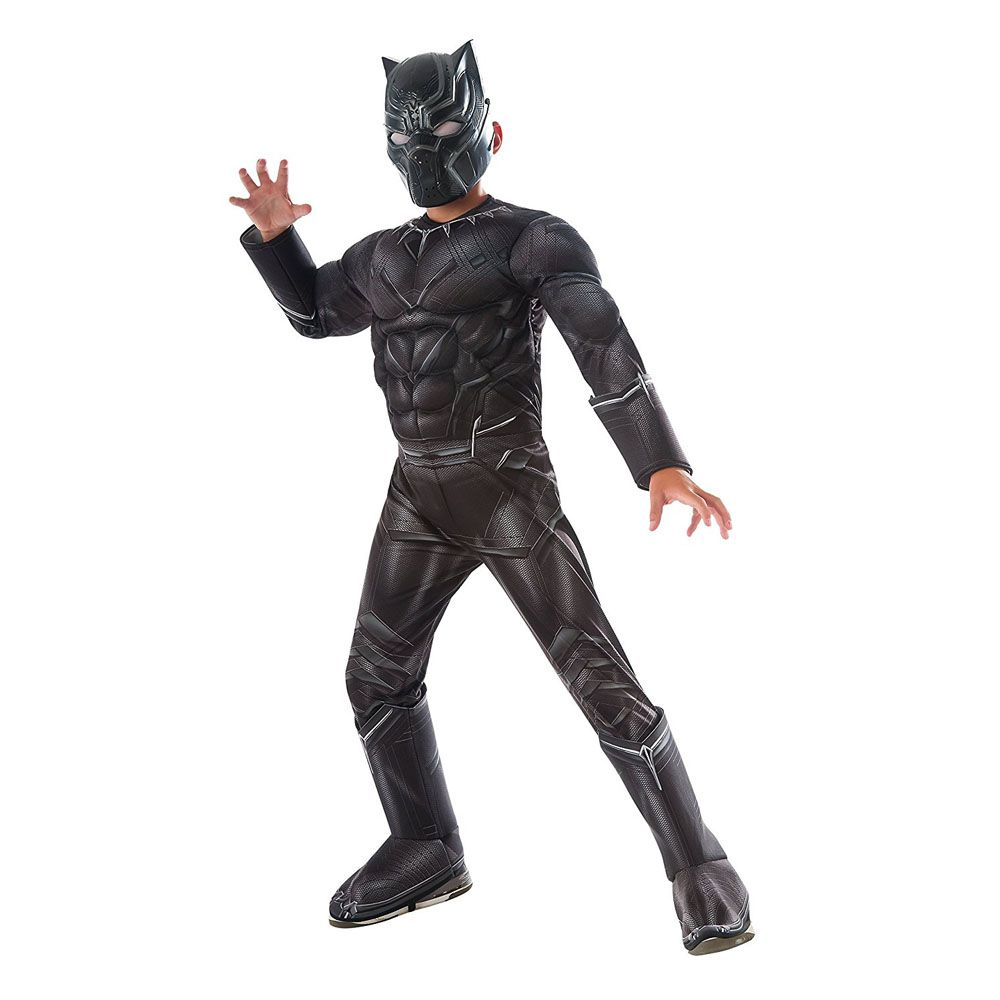 black panther superhero costume  sc 1 st  Womanu0027s Day & 18 Best Superhero Costumes for Kids - Girls and Boys Superhero ...