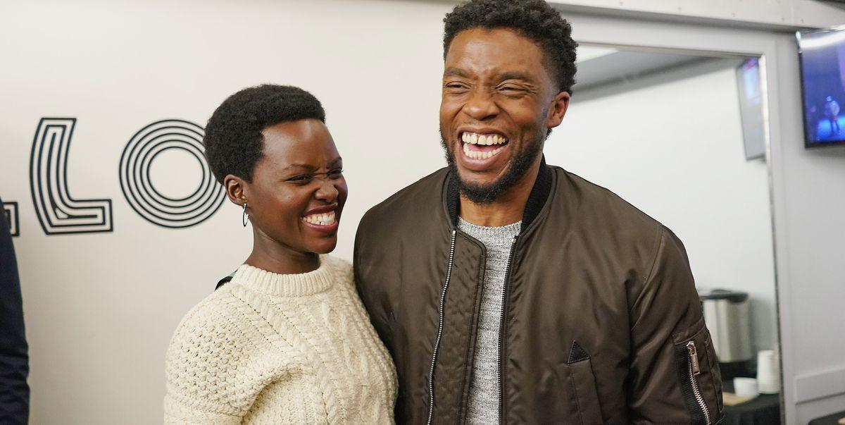 Lupita Nyong O Remembers Black Panther Co Star Chadwick Boseman Newsopener