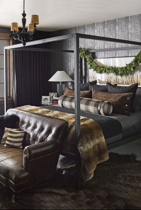 . 35 Black Room Decorating Ideas   How to Use Black Wall Paint   Decor