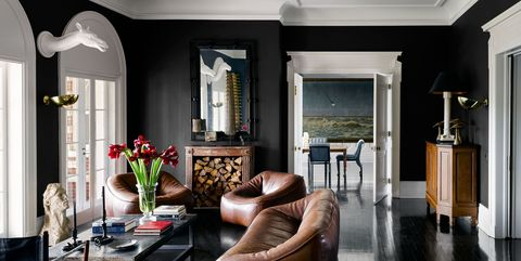 35 Black Room Decorating Ideas How To Use Black Wall Paint