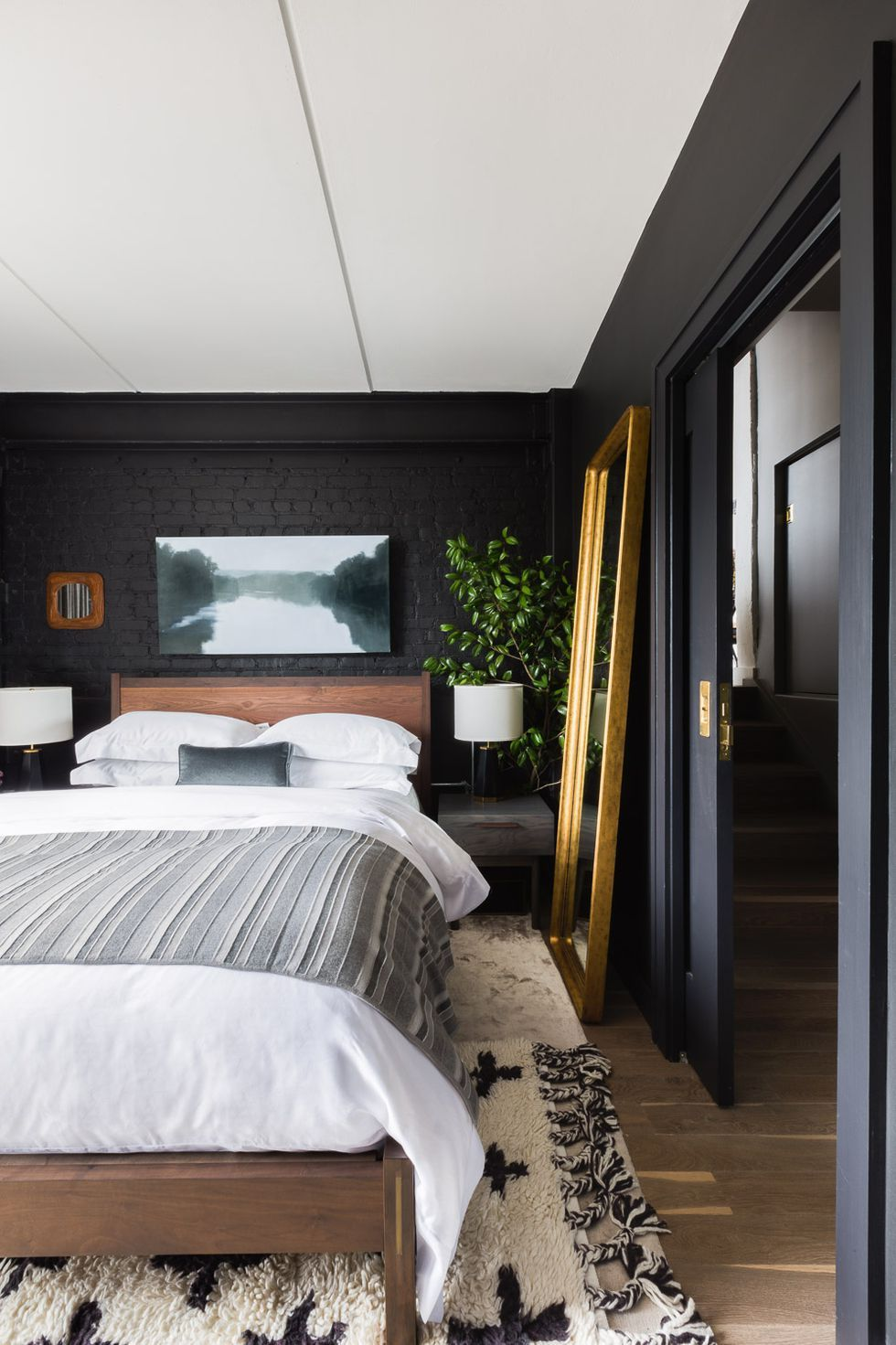 35 black room decorating ideas how to use black wall paint \u0026 decor