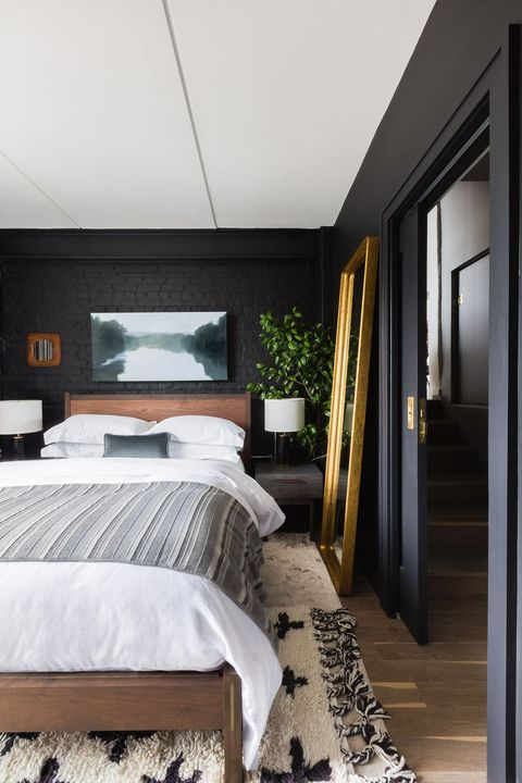 Design Wall Paint Room: 35 Black Room Decorating Ideas