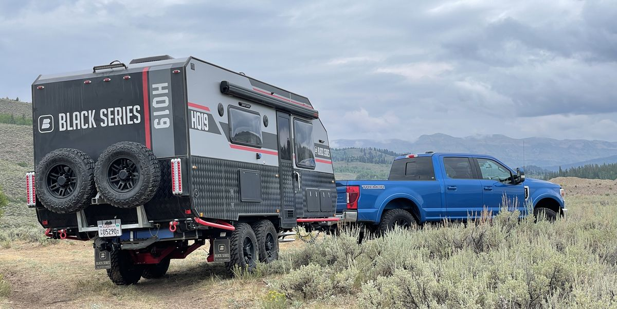 I Spent a Week Living out of the Coolest Off-Road Camping Trailer
