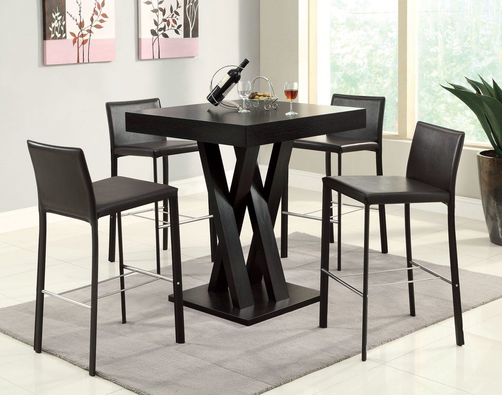 Black Small Dining Table