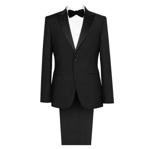 black tie for men