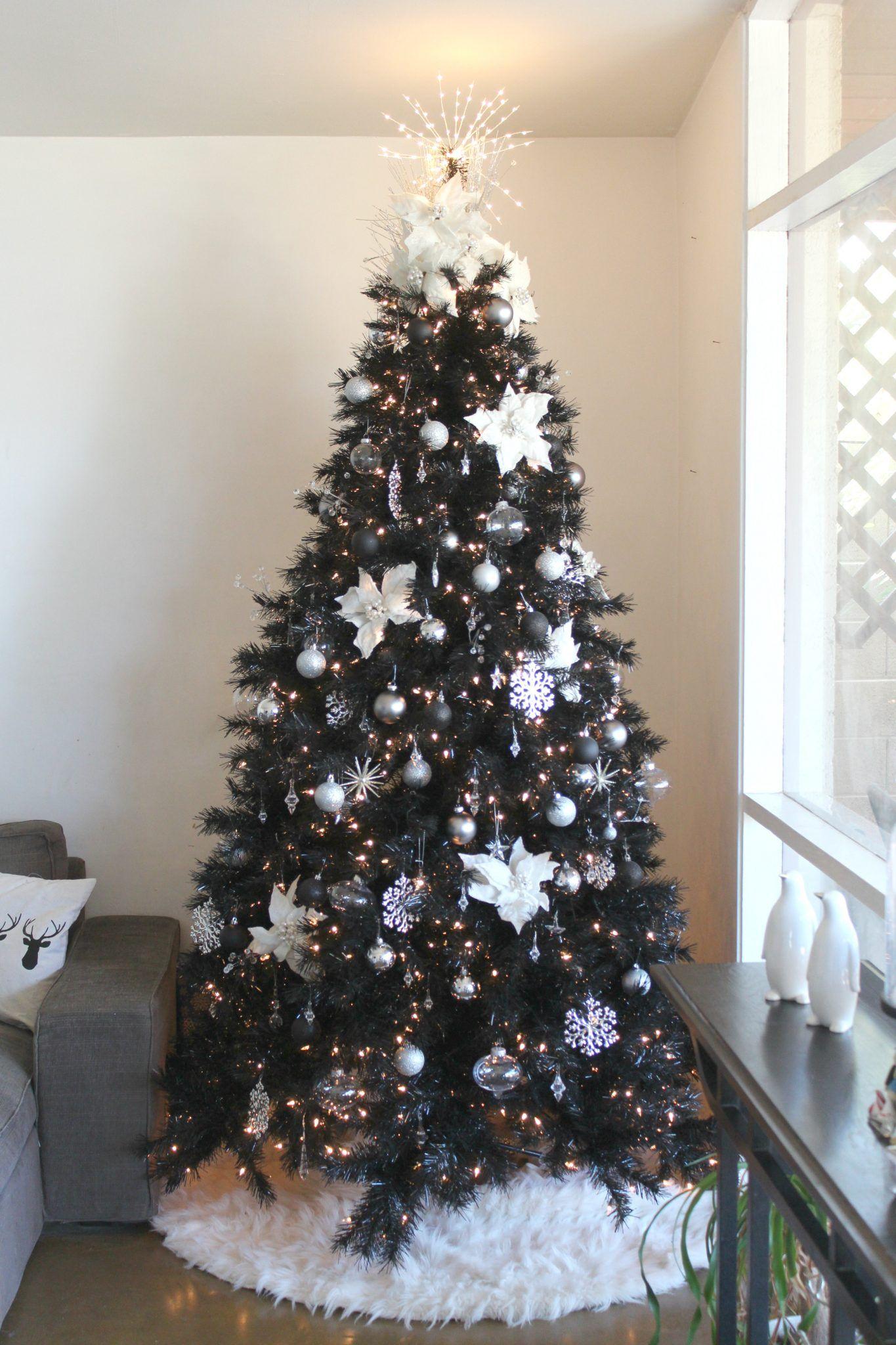 Best Black Christmas Tree Ideas , Gorgeous Black Christmas