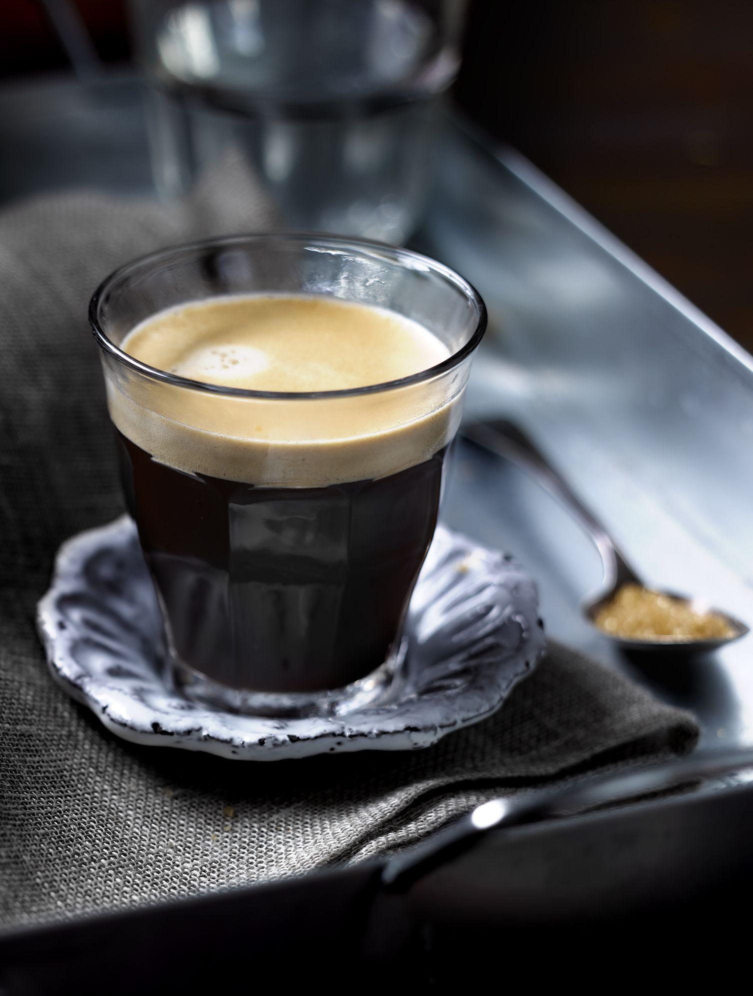 Margot Henderson's black velvet cocktail
