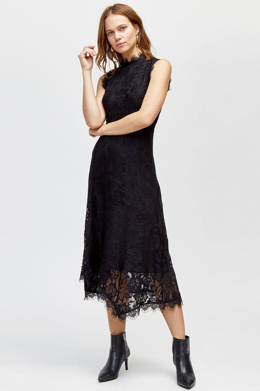 Black Wedding Guest Dresses