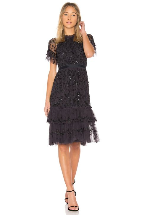 Can you wear black to a wedding best black dresses for for Amazon wedding guest dress