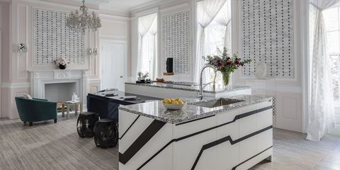 26 Gorgeous Black & White Kitchens - Ideas for Black & White ...