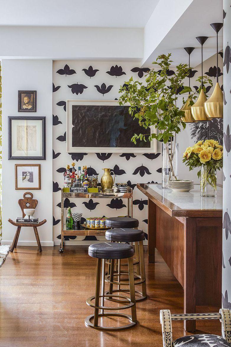 Contoh Inspirasi Ide Desain Dapur Berwarna Hitam Putih