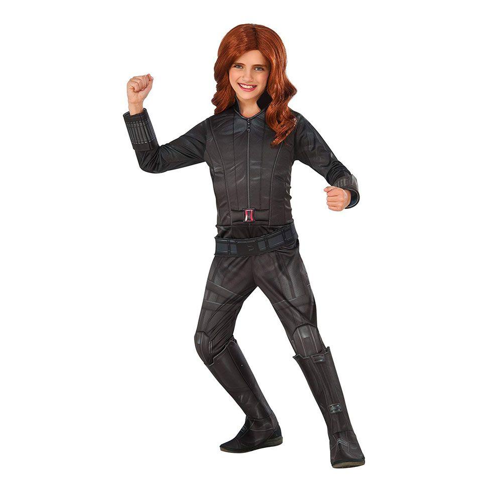 black widow superhero costume  sc 1 st  Womanu0027s Day & 18 Best Superhero Costumes for Kids - Girls and Boys Superhero ...