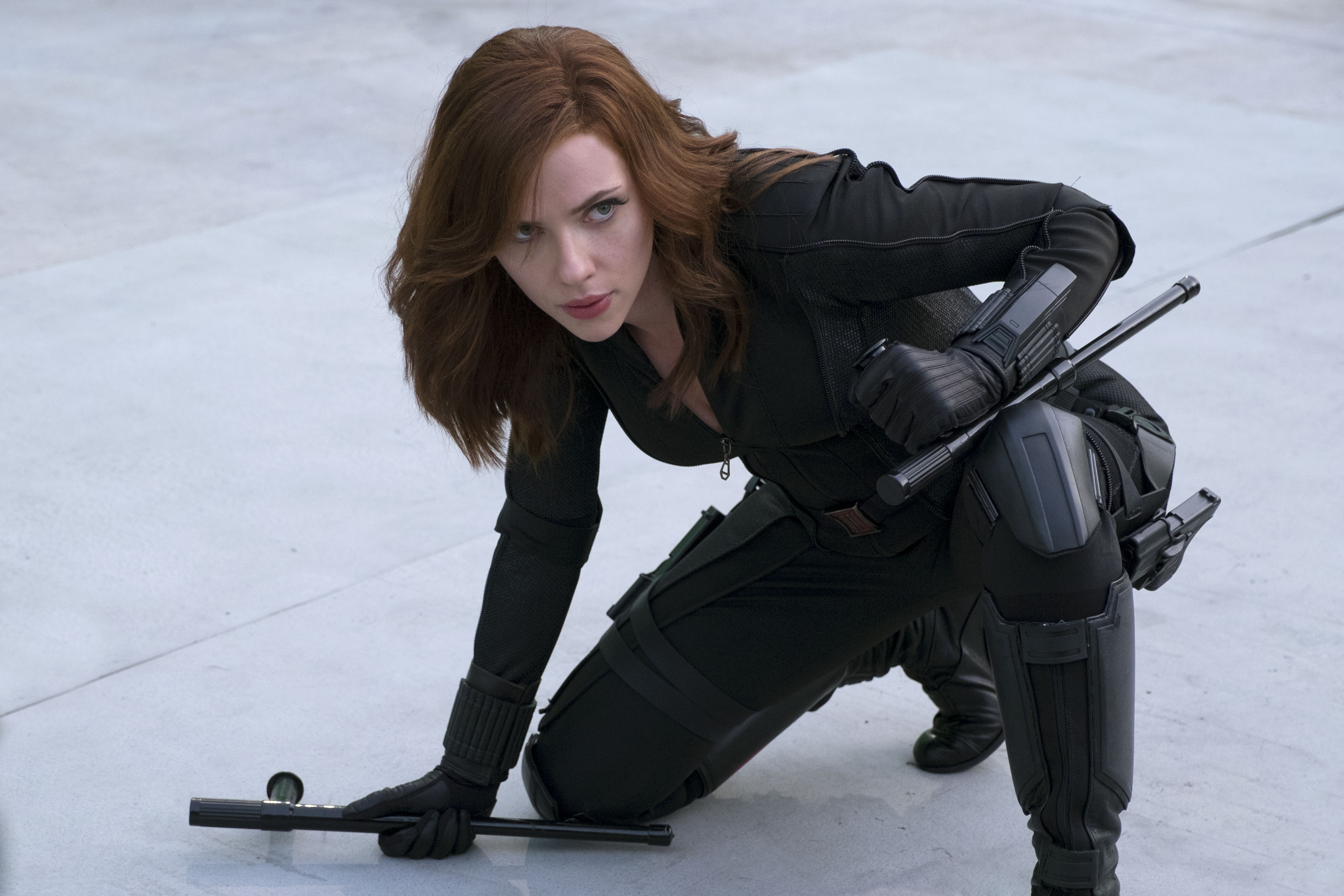 Black Widow's new look in her solo movie has been revealed