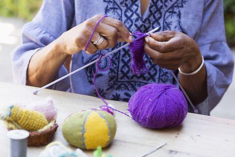 Knitting holiday