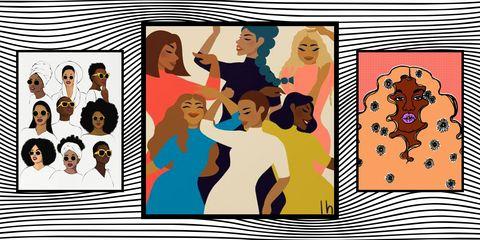 black artists graphic