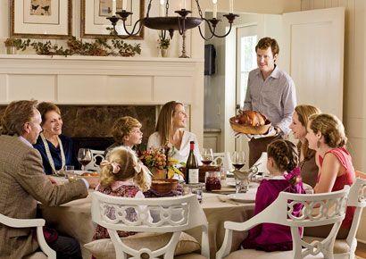 Thanksgiving dinner at Blackberry Farm
