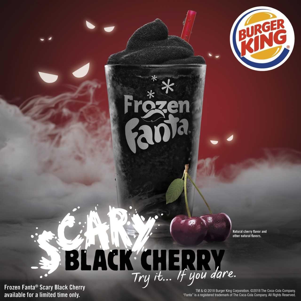 Burger Kings Halloween Slushie Might Be Giving People Black Poop photo