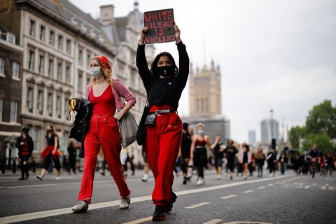 black lives matter protests london