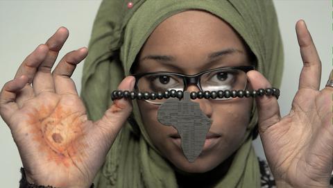 Black Muslim Woman film