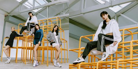 "adidas originals 2021春季全新女生系列""watch us move"",揉合豐富元素賦予單品鞋款自由搭配性,鼓勵每位女性登上屬於自己的舞台,擁抱自由律動,恣意呈現自我風格。"