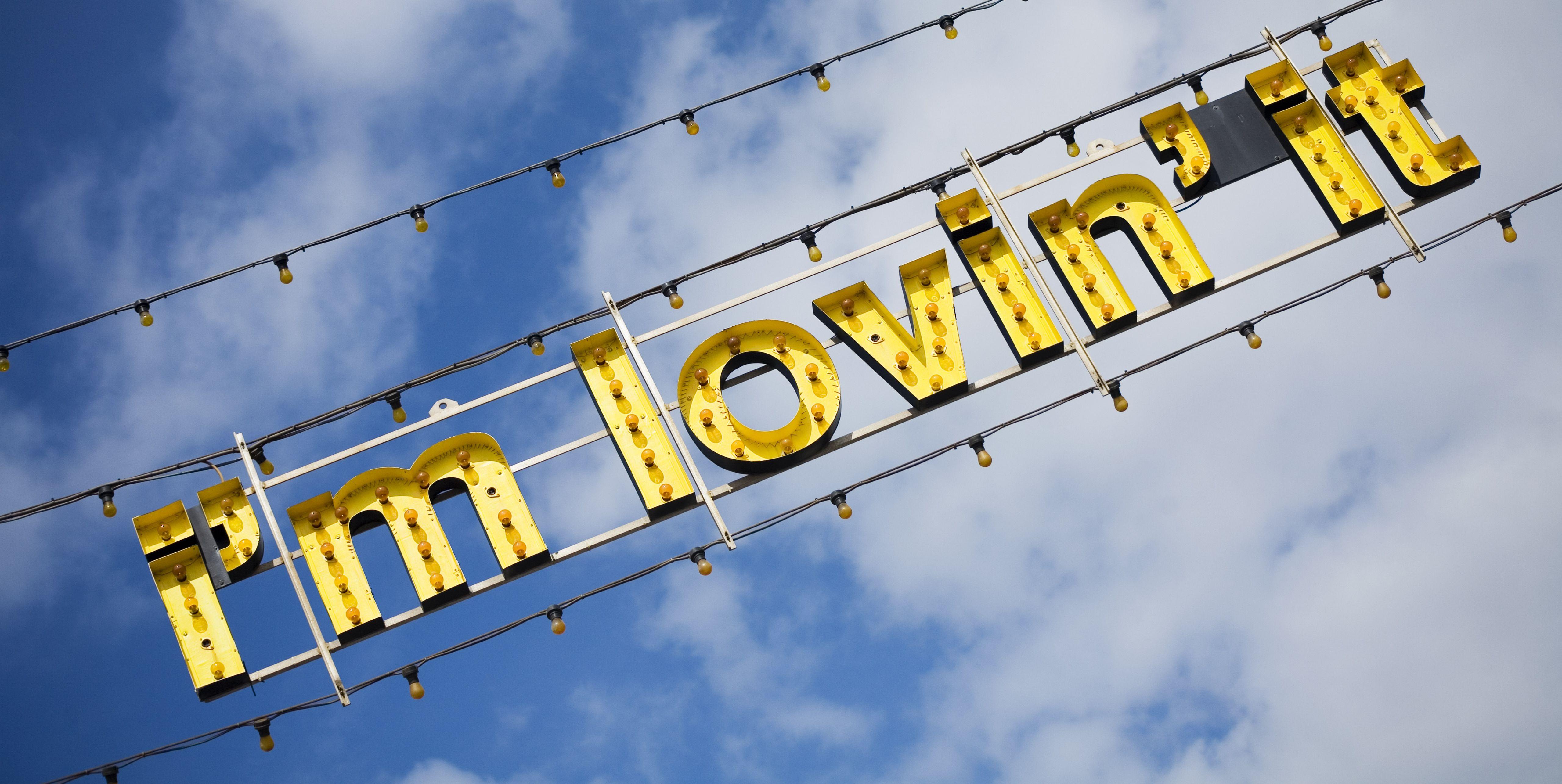 Blackpool Illuminations, McDonalds catchphrase, 'I'm Lovin' It'