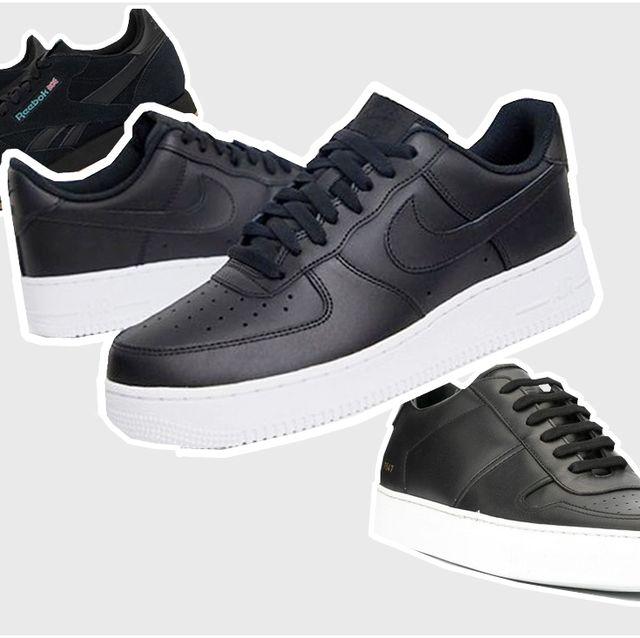 desagradable sabio gesto  21 Black Men's Trainers You Need to Know About — What to Wear this Year