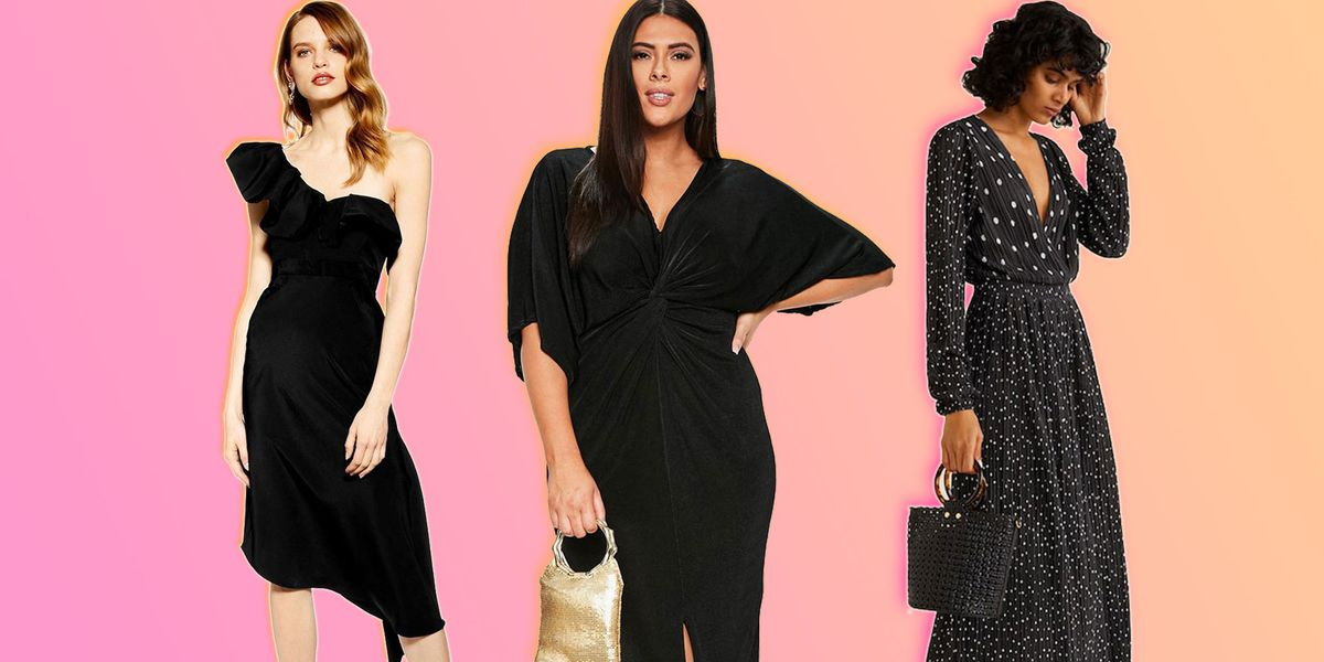 00a9dfdd7b6 Can you wear black to a wedding? Best black dresses for wedding guests