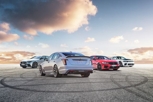 2022 cadillac ct5 v blackwing vs the competition