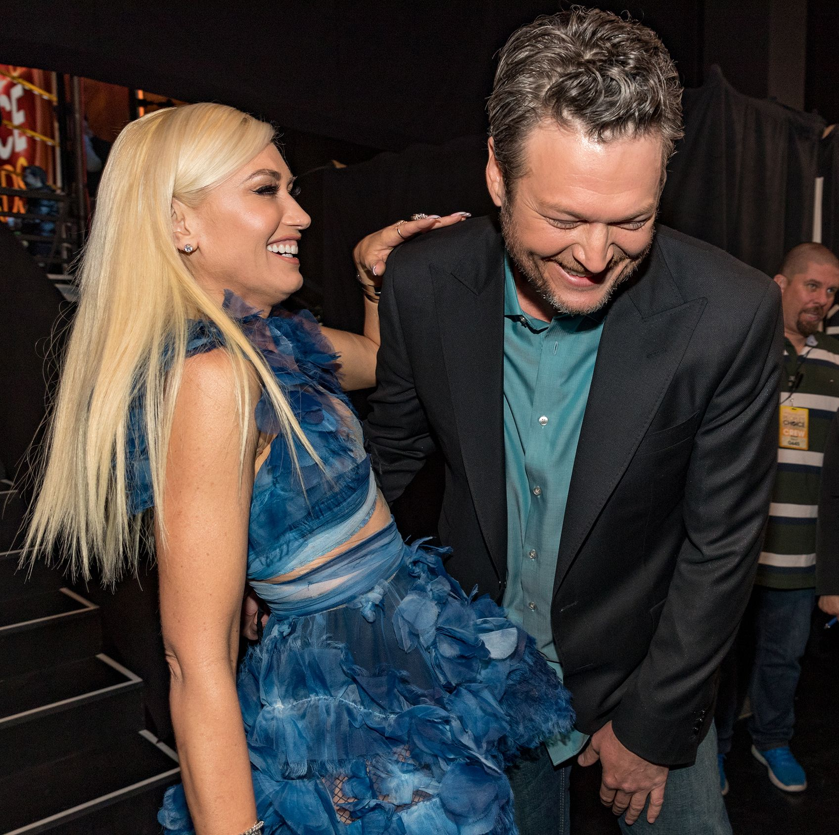 Feast Your Eyes on This Unbelievable Throwback Photo Gwen Stefani Found of Blake Shelton