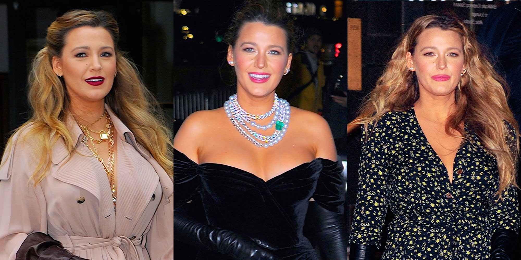 Blake Lively Wore Three Totally Different Dresses in One Day for Her 'The Rhythm Section' Press Tour