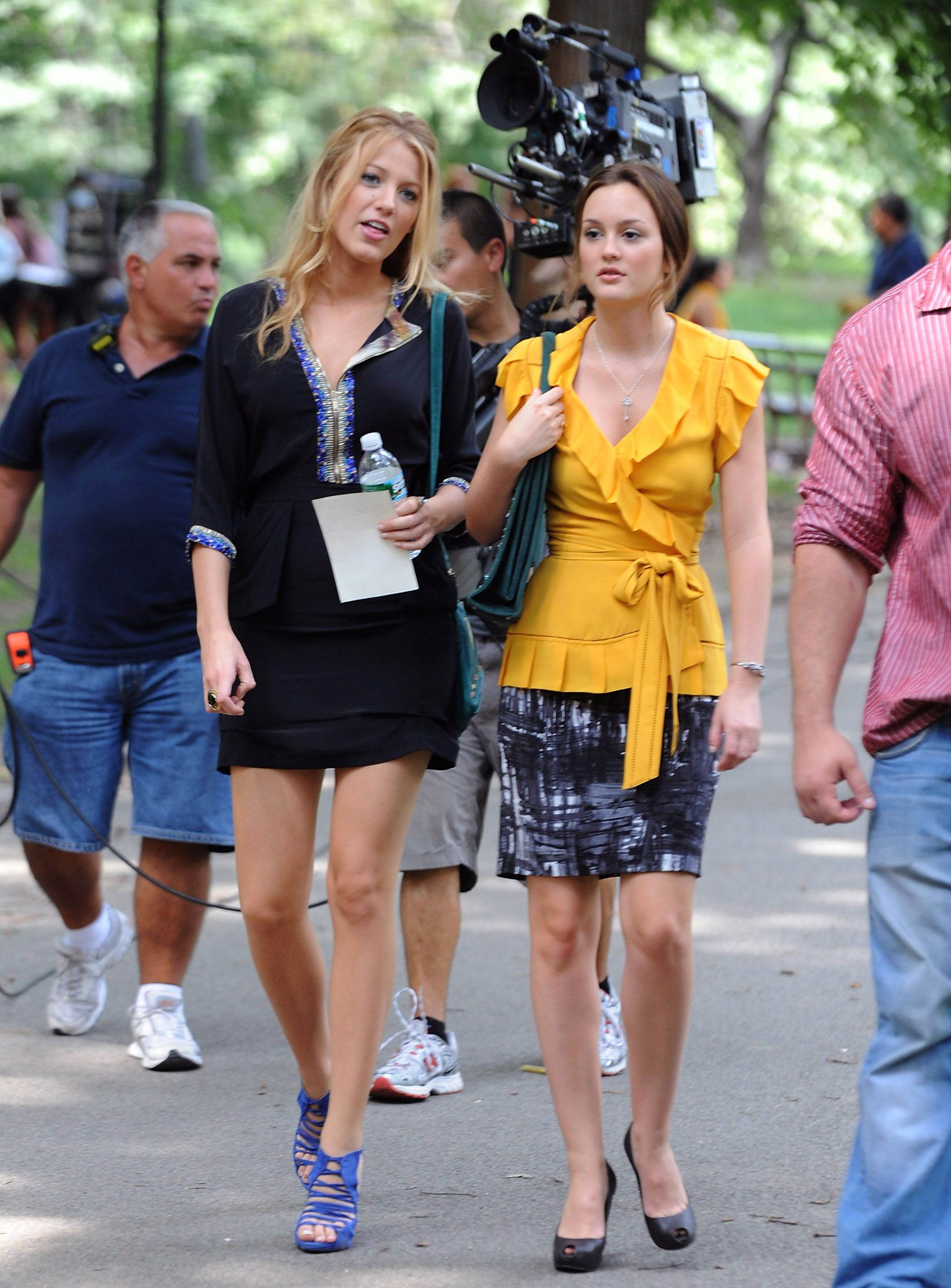 Celebrity Sightings In New York - July 27, 2009