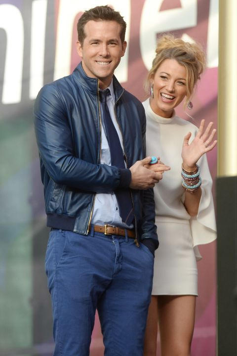 blake lively and ryan reynolds at the sound of change concert in london