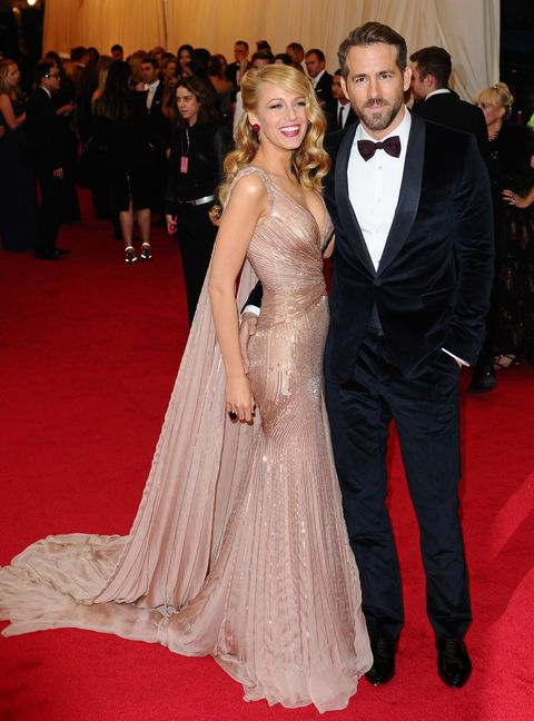 blake lively and ryan reynolds at the charles james beyond fashion costume institute gala