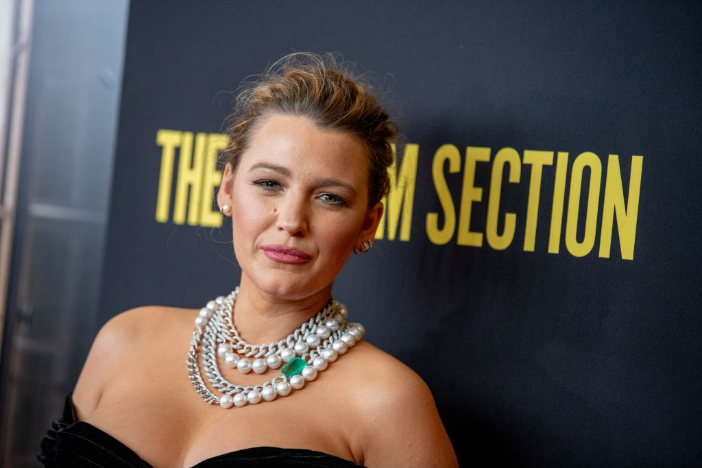Blake Lively Makes First Red Carpet Appearance In Eight Months