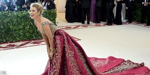 Blake Lively in Versace at the Met Gala