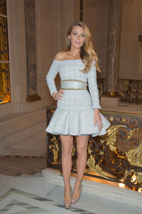 blake lively at the announcement of the new egerie l'oreal paris