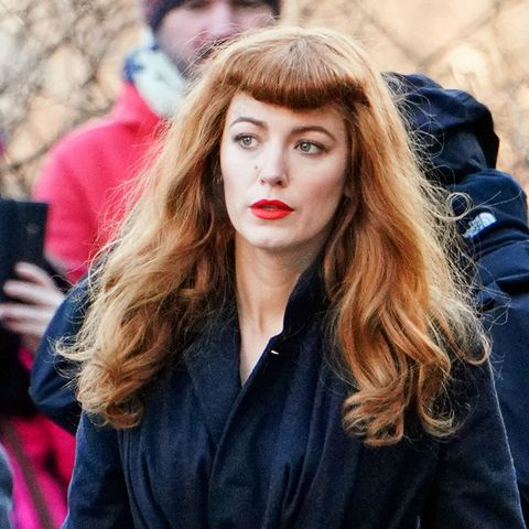 a4f8809c64ba Blake Lively s red hair on The Rhythm Section set