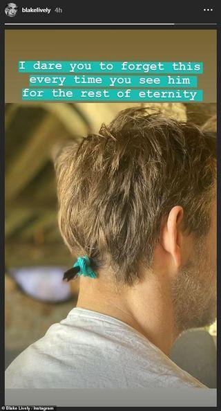blake lively ryan reynolds quarantine hair