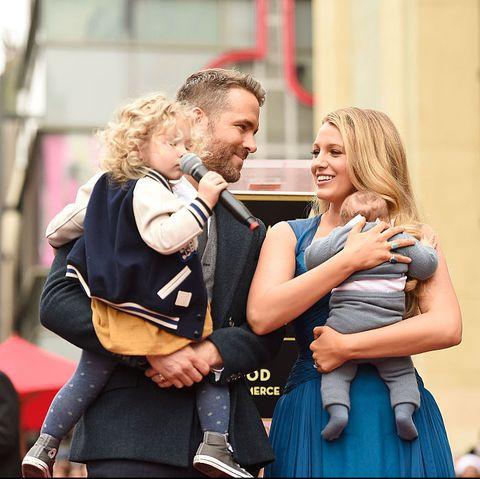 ryan reynolds blake lively family