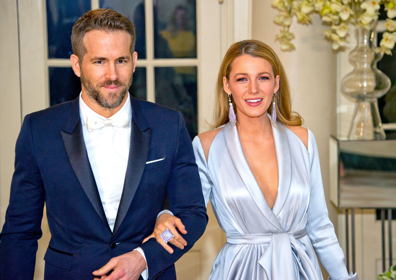 Wedding ryan reynolds blake photo lively Ryan Reynolds